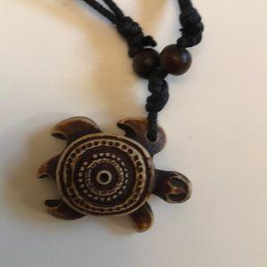 Other - ALOHA - Adjustable Hawaiian turtle necklace